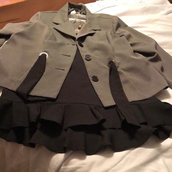 2pcs skirt suit